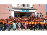 Galatasaray Spor Kulübü'nden köy okuluna anlamlı yardım
