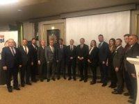 Mehmet Özhaseki Anadolu Turizm İşletmecileri Derneği üyeleriyle buluştu