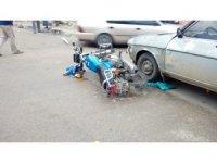 Kozan'da trafik kazası: 1 yaralı