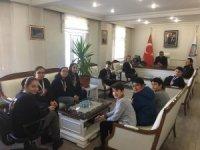 Robotatvan Robotik Kulübünden Kaymakam Özkan'a ziyaret