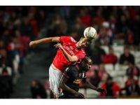 UEFA Avrupa Ligi: Benfica: 0 - Galatasaray: 0 (İlk yarı)