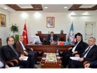Vali Şentürk'ten Milli Eğitim Müdürlüğüne ziyaret