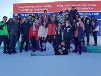 Sivas Snowboard Yarışlarından 8 Madalya