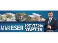 Başkan Aksoy, projeleriyle Tatvan'a ivme kazandırdı