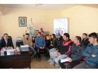 Erciş'te 'Kurumlar Arası Voleybol Turnuvası' kuraları çekildi