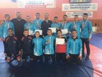 Güreş Eğitim Merkezi Sporcuları Kırşehir'den Şampiyonluklarla Döndü
