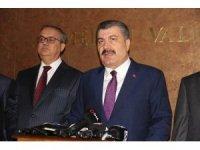 """Bakan Koca: """"Avrupa'daki grip salgını Türkiye'yi etkilemedi"""""""