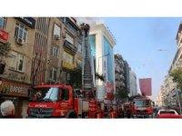 Baz istasyonu trafosu alev alev yandı