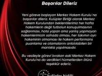 Kulüpler Birliği'nden yeni MHK'ya başarı dileği