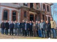 Başkan Yıldız'dan, Taş Mektep'teki restorasyon çalışmalarına inceleme