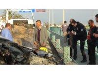 Kaza yapan alkollü sürücünün ehliyetine 2 yıl el konuldu