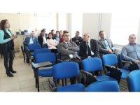 Kars'ta Kadına Yönelik Şiddetle Mücadele Eğitim semineri verildi