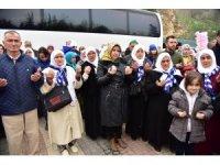 Bilecik'te umre yolcuları kutsal topraklara uğurlandı