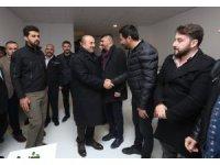 Dışişleri Bakanı Çavuşoğlu'dan Alanya'da MHP seçim merkezine ziyaret