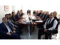 Çorlu'da seçim güvenliği toplantısı gerçekleştirildi