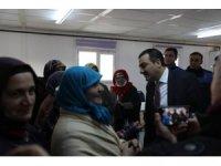 Vali Öksüz, Bülbül Mahallesi'nde vatandaşlarla buluştu