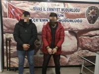 ATM fareleri Gürün'de yakalandı