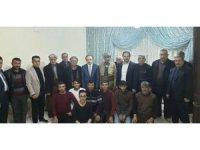 Başkan Vekili Epcim, 13 aileye misafir oldu