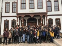 150 öğrencisiyle memleketi Çankırı'ya gezi düzenledi