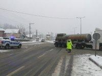Bolu Dağı ağır tonajlı araçların geçişine kapatıldı