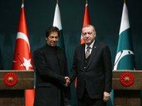 Pakistan Başbakanı Han Erdoğan'dan yardım isteyecek