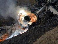 Hint savaş uçağı Pakistan sınırında düştü!