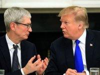 Apple CEO'su Tim Cook, Trump'ın gafı sonrası adını değiştirdi
