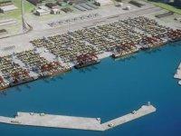 Gürcistan'daki en derin limana dolgu malzemesi Trabzon'dan