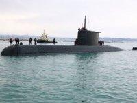 Tür Denizaltısı Arnavutluk'ta