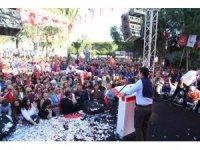 Bodrum'da Ahmet Aras izdihamı