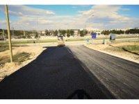 Bilecik'te yollara sıcak asfalt çalışması