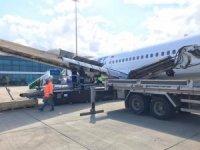 Havada arızalanan uçak Ordu-Giresun Havalimanı'na indi