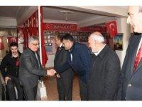 Vali Pekmez ve beraberindekiler TÜMŞAD'ı ziyaret etti