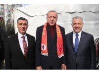 Cumhurbaşkanı Erdoğan'dan Cumhur ittifakı Başkan adayı Nazik'e destek