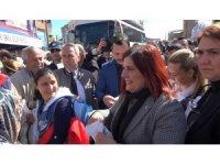 Büyükşehir belediyesinin yerel fide şenliği devam ediyor