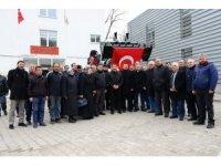 Vali Mustafa Masatlı, Posof İlçesini ziyaret etti, iş makinesi teslim etti