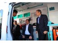 Tunceli'de 8 yeni ambulans hizmete girdi