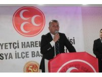 MHP İl Başkanı Aydın, Tosya ilçesini ziyaret etti