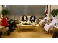 Bakan Pakdemirli, Katar Belediye ve Çevre Bakanı ile görüştü