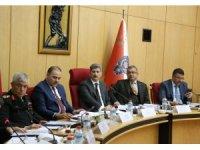 Merkez Güvenlik Kurulu İçişleri Bakan Yardımcısı İnce başkanlığında toplandı