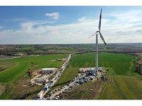 Kapaklı'da rüzgar santrali hizmete açıldı