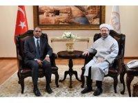 """Diyanet İşleri Başkanı Erbaş: """"İslam, insanların barış içerisinde yaşamasını amaçlar"""""""