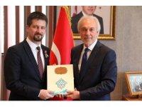 Macar Büyükelçisi Başkan Saraçoğlu'nu ziyaret etti