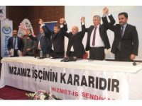 Elazığ Belediyesinde toplu iş sözleşmesi sevinci