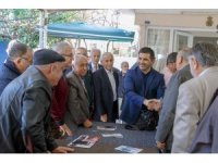 Ömer Günel, Kuşadası'nda polis emeklileri ile bir araya geldi