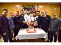 Avrupa Şampiyonu İbrahim Çiftçi'ye Başkent'te özel karşılama