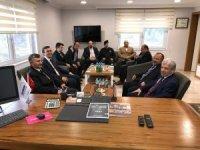 Vali Bektaş'tan Cilas Şirketler Grubuna ziyaret