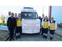 Sağlık Bakanlığı Burhaniye Belediyesine ambulans gönderdi