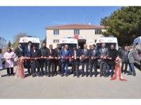 5 adet tam donanımlı kara ambulansı Erzincan'da hizmete girdi