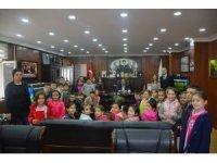 Başkan Demirtaş öğrencilere yerel yönetimleri anlattı